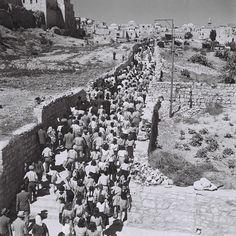 Jewish Pilgrims . From Mt. Zion to The Wailing Wall