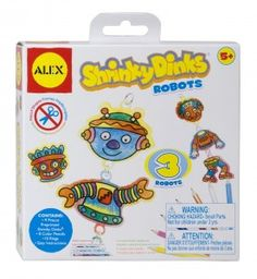 Shrinky Dinks-Robots Image
