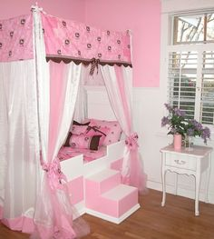 where can i find canopy beds for girls | Princess Canopy Bed For Girls
