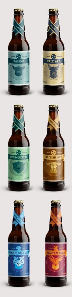 I find this packaging interesting because when it comes to package design, consistency through all the different elements is essential. http://www.packageinspiration.com/keane-brewing.html/