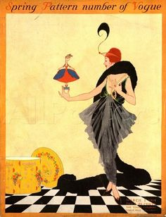 Vogue cover - March 1-1914
