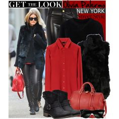 """""""Get the Look: Olivia Palermo NEW YORK CITY"""" by helenevlacho on Polyvore"""