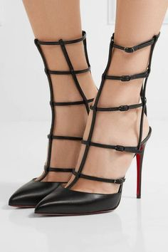 wholesale dealer c642f b4fb9 Christian Louboutin - Kadreyana 100 Leather Pumps - Black