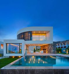 Casa Finestrat is a private residence designed by Gestec. Completed in 2015, it is located in Finestrat, Alicante, Spain