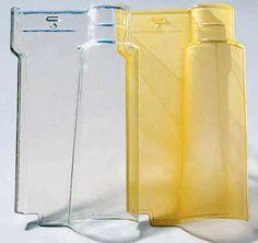 Portuguesa de vidro (40 x 23,3 cm), da Prismatic. Rende 16 peças por m². Inclinação mínima: 30%.