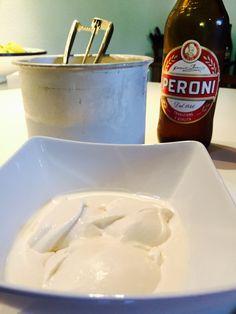 Gelato alla birra - Beer ice cream