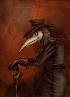 Plague Doctor by SugarHighTyrant