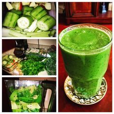 If you're like most Americans, it can be tough to reach your five servings of vegetables each day. By incorporating this green drink into your day, you'll be sure to surpass that goal! Wash and roughly chop up your veggies in advance and store them in a container in the refrigerator for a quick preparation in the morning. Try out my recipe for a refreshing, nutrient-dense, fiber-rich shake.