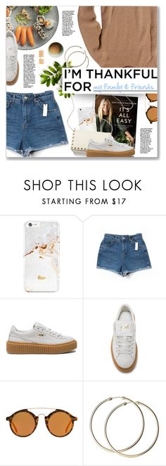 """""""Cruisin (feat. Huey Lewis), Gwyneth Paltrow"""" by blendasantos ❤ liked on Polyvore featuring Topshop, Puma, MANGO, Repossi and imthankfulfor"""