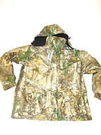 Men's All Weather Parka- Kings River - Large-NEW with 1 Missing Hood Button