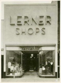 Lerner's Shops in Huntington, WV. Clarksburg WV had a store just like this downtown. I remember shopping here as a teenager.