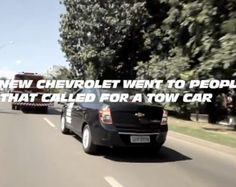 New Chevrolet Cobalts were sent to people who ordered tow trucks for a test drive.