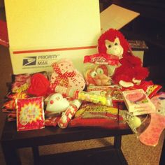 Valentine's Care Package by @TheYoungRetiree