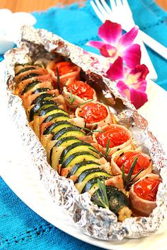 Let's grasp foil baking! Let's grasp foil baking! Let's grasp foil baking ♪-Livedoor Information - - Barbecue Recipes, Grilling Recipes, Cooking Recipes, Outdoor Food, Outdoor Cooking, Healthy Dinner Recipes, Appetizer Recipes, Camping Dishes, Western Food