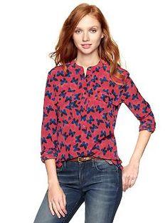 Pocket Popover Shirt. $54.95 #clothes #shirts #tops #apparel