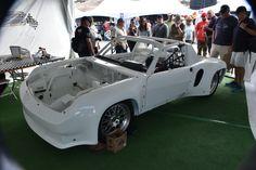 Porsche 914 with Porsche Cayenne turbo V8 motor  Vendor at Rennsport