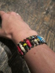 paper beads, 100% of the sale from these goes to the Village of Hope children's home in Uganda