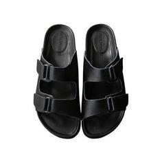 【ELLE SHOP】【オンラインショップ限定】リアルレザープラットフォームサンダルブラック アメリカンラグ シー(AMERICAN RAG... (€84) ❤ liked on Polyvore featuring shoes, sandals, black, clothes - shoes, black sandals, kohl shoes, black shoes, american rag cie shoes and american rag cie