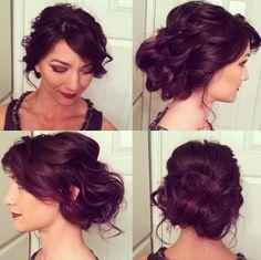 Curly Updo- Heidi Marie Garrett