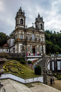 Bom Jesus Do Monte, Braga Catholic Shrine, Braga, Portugal
