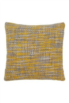 Ochre Boucle Knit Cushion from the Next UK online shop