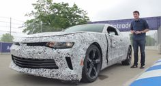 You have to feel sorry for this guy who wrecks a brand new 2016 #Chevrolet Camaro which isn't even for sale yet!