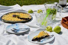 My Home Style: Borůvkový koláč & zahradní piknik