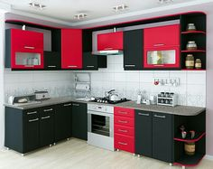 If you want to make your house more modern - start with the kitchen. Modern kitchen design is great for a complete redevelopment and the. Moduler Kitchen, Kitchen Cupboard Designs, Kitchen Modular, Kitchen Room Design, Modern Kitchen Cabinets, Modern Kitchen Design, Home Decor Kitchen, Interior Design Kitchen, Narrow Kitchen