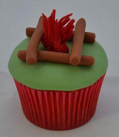 Passo a Passo Cupcake Fogueira por Elisabeth Teodoro