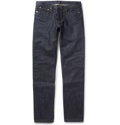 Never goes out of style...A.P.C. Petit Standard Slim-Fit Dry Selvedge Denim Jeans | MR PORTER