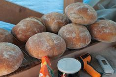Baking weekend - Rustic and wholemeal sourdough