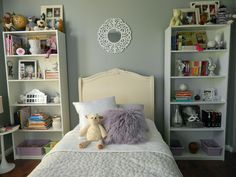 Spotted: Valspar paint in Urban Sunrise 4004-1B, available at Lowe's. A nice, simple background for a room.