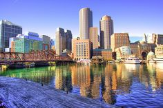 Boston, Massachusetts.  I came here at age 19 on a road trip. I can't remember what movie I had just seen but it made me quite enamored of seeing this town. I loved the vibe here. Great accents abound.  A great mix of historic and modern.