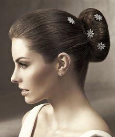 Accessori sposa per capelli a forma di fiore
