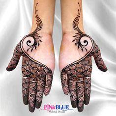 Rashmi Rajput's Simple & Preety Mehandi Design - Having Extra Ordinary Look to Make You Beautiful #Mehandi #Art #Design #Simple #Wedding #Beautiful #Love #PINKBLUE Book Your Order: +91-90993-59014