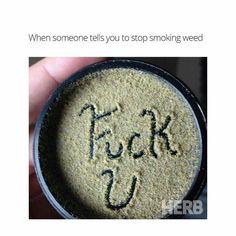 Smoking weed is bad of you?