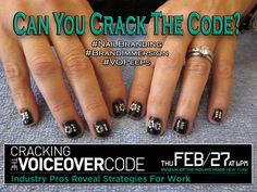 VO Peeps Nail Branding promo for Cracking the Code Voiceover event in NYC - https://www.facebook.com/CrackingTheVOCode