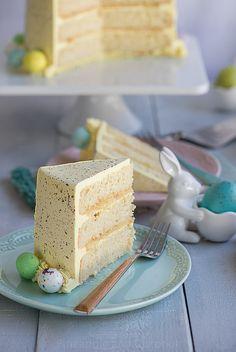 Coconut Lemon Cake-4281 by PineappleAndCoconut, via Flickr