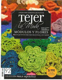Revista gratis Módulos y flores en crochet - Revistas de manualidades Gratis