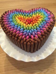 diy birthday cake for girls Birthday cake girls homemade 63 ideas Birthday cake girls homemade 63 ideas Candy Cakes, Cupcake Cakes, Cupcakes, Food Cakes, Smarties Cake, Diy Birthday Cake, Chocolate Birthday Cake Kids, Fruit Birthday, Rainbow Birthday