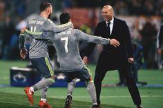 Ramos, Ronaldo & Zidane. Champions League Real vs Roma 2/17/2016