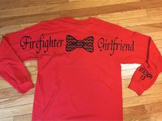 Fire fighter girlfriend! Can also be made for mom, wife, daughter, etc. by StudioChaseDesigns on Etsy https://www.etsy.com/listing/210008393/fire-fighter-girlfriend-can-also-be-made