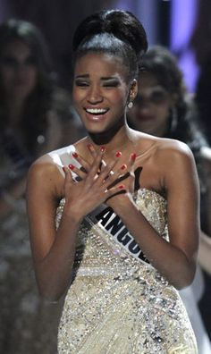 Congrats to Miss Angola in winning the #MissUniverse pageant. If any of the other 88 contestants needs consolation, I'm available :)