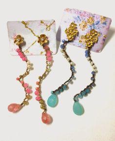 annaNì: annaNì bijoux orecchini crochet