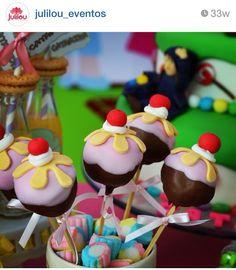Cakepop festa Joao e Maria