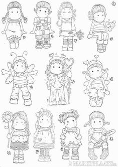 Coloring Book Pages, Coloring Sheets, Adult Coloring, Art Folder, Atc Cards, Doll Quilt, Black And White Drawing, Marker Art, Copics