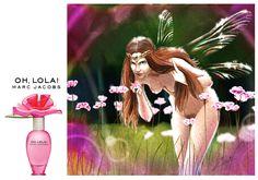 perfume, productillustration  digital painting, Cordula Geistefeldt Illustration