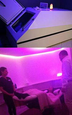Enjoy a body treatment in our vichy shower at the spa at for Gravity salon