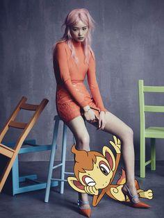 Editorial da Vogue Australia pelo Tumblr Pokemon&Fashion