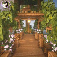 Casa Medieval Minecraft, Minecraft Mansion, Minecraft Cottage, Easy Minecraft Houses, Minecraft House Tutorials, Minecraft Castle, Minecraft Room, Minecraft Plans, Minecraft House Designs